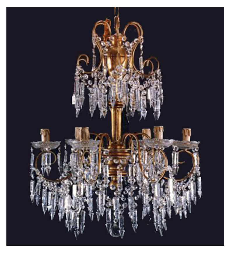 Century 6light Crystal Chandelier New Favorite Swarovski