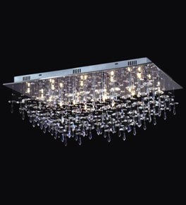 Flush Chandelier 21 light crystal drop flush fitting chandelier ceiling lighting 21 light crystal drop flush fitting chandelier audiocablefo