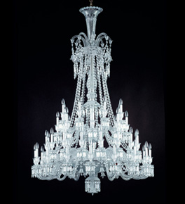 48 Light Empire Style Crystal Chandelier