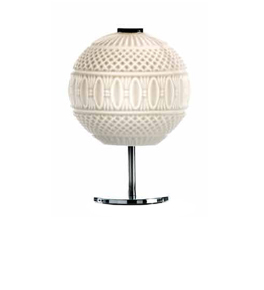 Arabesque Design Bauble Style Table Lamp