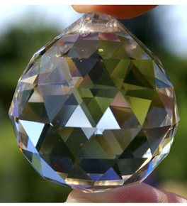 Multi Faceted Asfour Crystal Balls