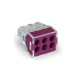 Push Wire 6 Point Connector