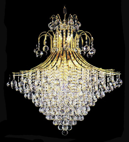 Cone shaped Crystal Drop Elegant Chandelier
