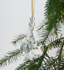 French Slab Crystal Decoration
