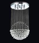 Floating Crystal Ball Chandelier