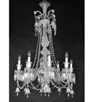 Empire Style Crystal Chandelier