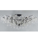 Floral Crystal Style Chandelier.