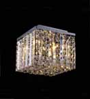 Surface Mounted Clear Crystal Chandelier