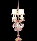 4 Light Crystal Table Lamp